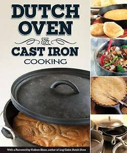 COUCH, P-DUTCH OVEN & CAST IRON COOKING BOOK NEW