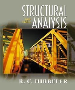 Structural Analysis by Russell C. Hibbeler