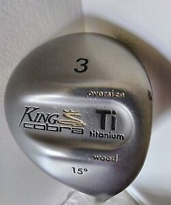 King Cobra Ti Titanium Oversize 3 Fairway Wood 15* Golf Club
