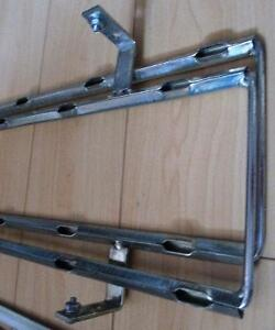 Galvanized Metal Standing Wine Rack Holds 50 Bottle Wine Storage Stratford Kitchener Area image 3