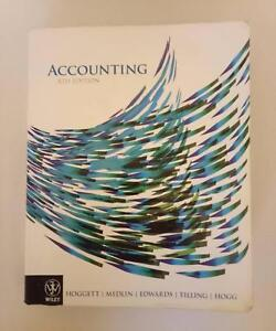 Accounting 8th edition Lockleys West Torrens Area Preview