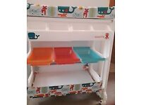 Baby Changing Unit With Bath. Cosatto Easi Peasi Zuton Design