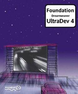 """VERY GOOD"" Foundation Dreamweaver Ultradev 4, Steel, Spencer, Paddock, Rob, Boo"