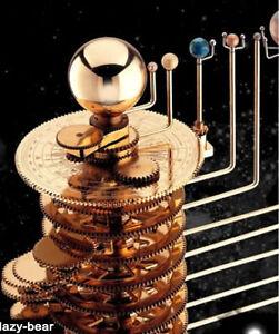 brass solar system model - photo #18