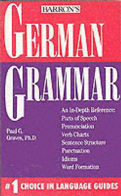 graves paul g german grammar book new