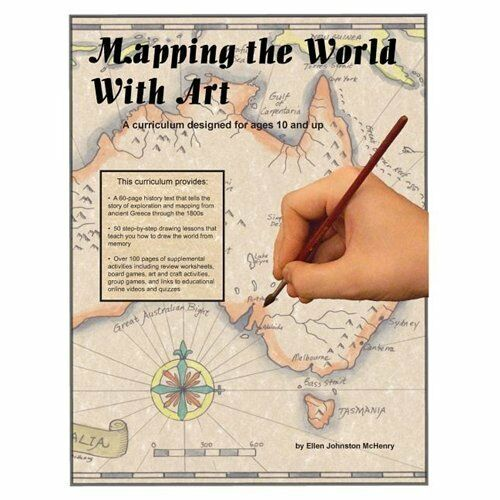 Buy online mapping the world with art by ellen mchenry s basement workshop 2009