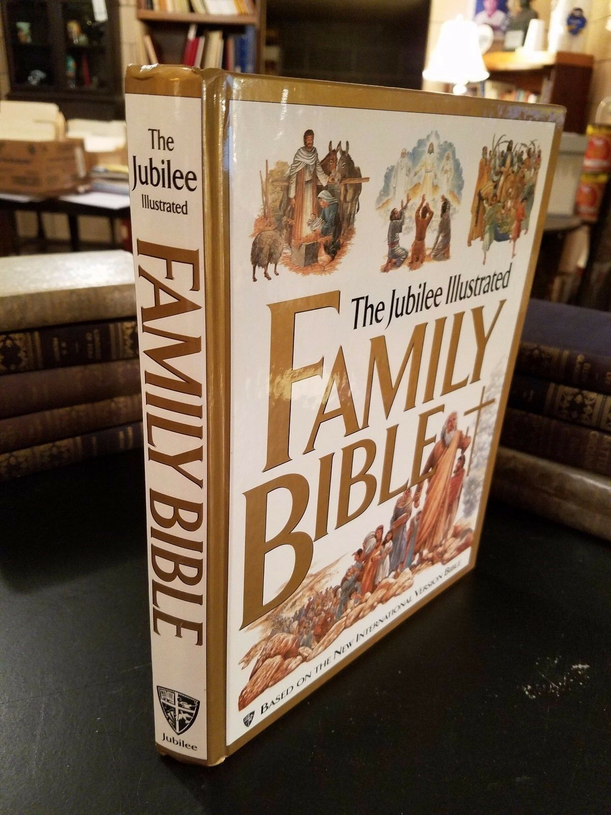 the jubilee illustrated family bible illustrated 1997 based on the niv bible