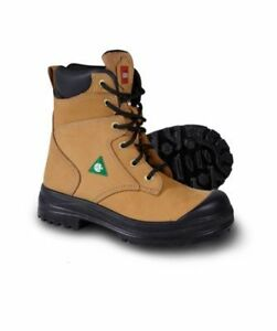 Boots almost new steel toe