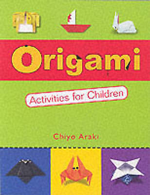 Buy online araki chiyo origami activities for children book new