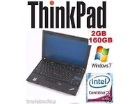 WINDOWS 7 Lenovo Thinkpad Tablet Laptop Core 2 Duo Warranty CHEAP WEBCAM