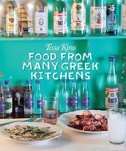 FOOD-FROM-MANY-GREEK-KITCHENS-BY-TESSA-KIROS-Hardback-2010-BRAND-NEW