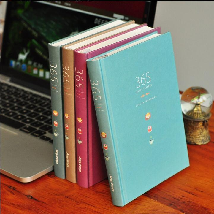 365 v 2 1pc any year hard cover planner diary agenda scheduler study notebook