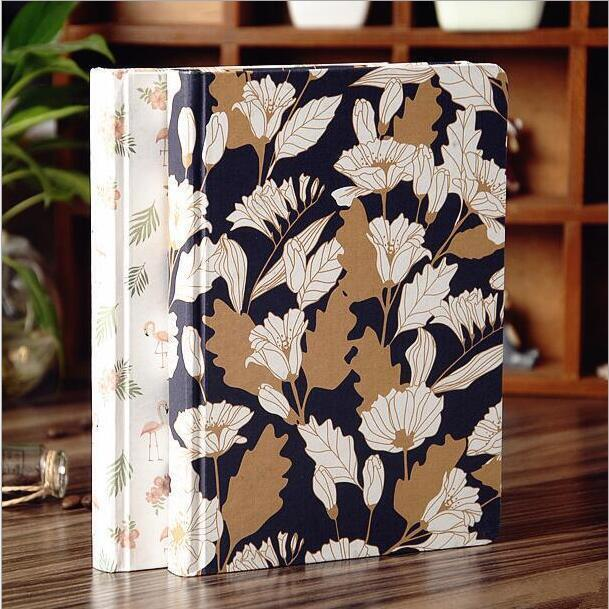 beside pond 1pc beautiful diary blank paper sketchbook hard cover notebook
