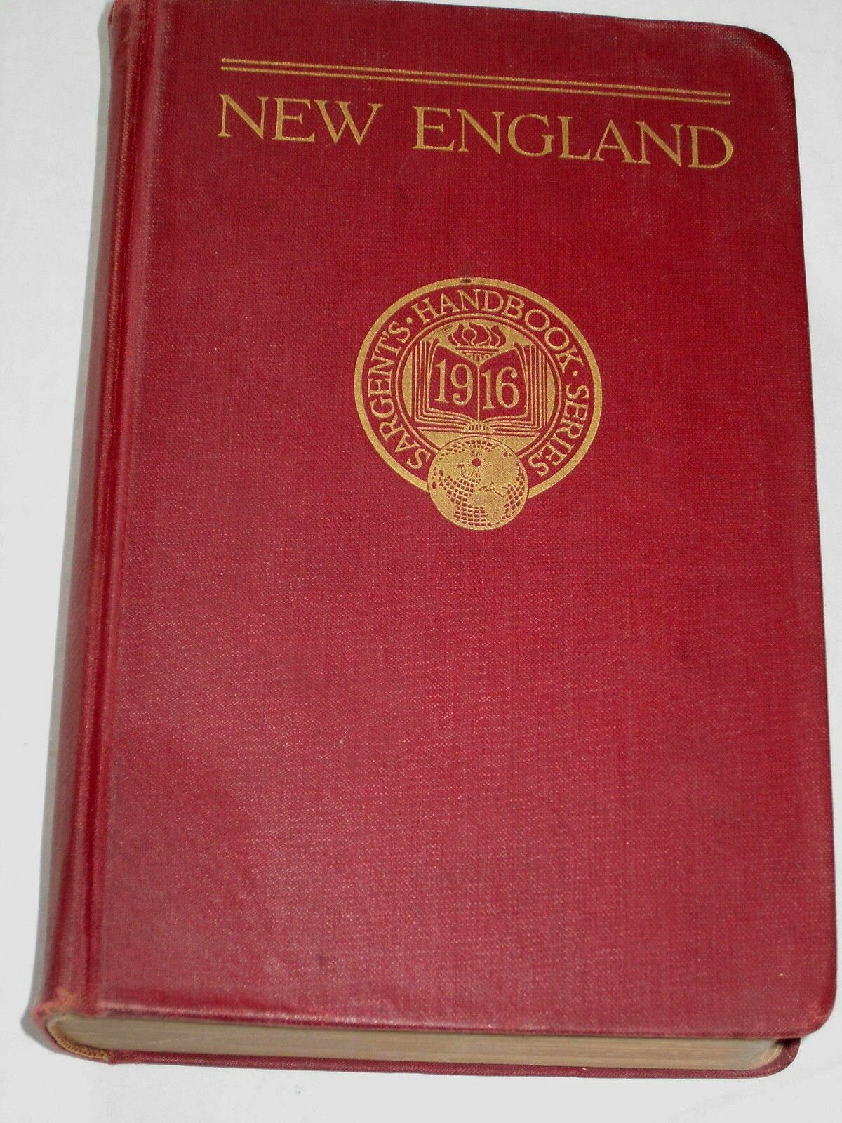 1916 sargent s handbook of new england 1st edition americana travel book