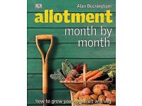 Allotment month by month book NEW
