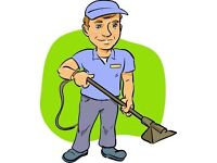 the carpet cleaning & end of tenancy house cleaner