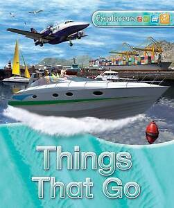 Explorers: Things That Go, Gifford, Clive, New Book
