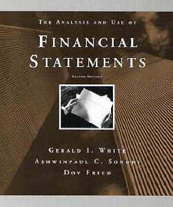 The Analysis and Use of Financial Statements, Gerald I. White & Ashwinpaul C. So