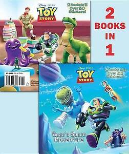 Buzz's Space Adventure/Sunnyside Boot Camp (Disney/Pixar Toy Story)-ExLibrary
