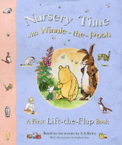 A-A-Milne-Nursery-Time-with-Winnie-The-Pooh-A-First-Lift-the-flap-Book-Book