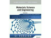 Materials Science and Engineering Brand New Book