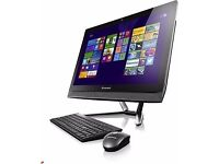 "Lenovo C40-30 - 21.5"" All in one touch screen PC, Windows 10 and £70 Roccat Keyboard"