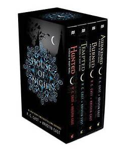 The House of Night Collection Boxed Set by P C Cast, Kristin Cast (Multiple copy