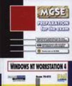 Windows NT 4 Workstation Preparation for the MCSE Exam, Jose Dordoigne