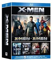 New X-Men 5 Blu-ray Disk Collection Days of Future Past