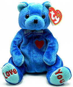Dad-e the Father Bear Ty Beanie Baby stuffed animal - Ty Store