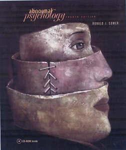 Abnormal Psychology & CD-Rom-ExLibrary