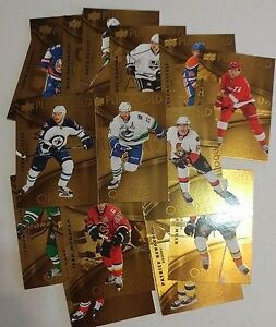 SERIE CARTE HOCKEY DE BASE TIM HORTON 1 A 100 LL GDA ET PG
