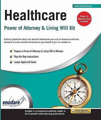 HEALTHCARE POWER OF ATTORNEY & LIVING WILL KIT 1