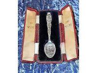 Antique Sterling Silver Queen Victoria Diamond Jubilee Commemorative Spoon