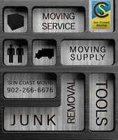 SUNCOAST MOVING STRESSFREE MOVES,LAST MIN BOOK NOW!!