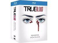 True Blood Season 1 to 5 Blu ray box set