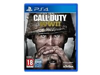 PS4 game call of duty ww11