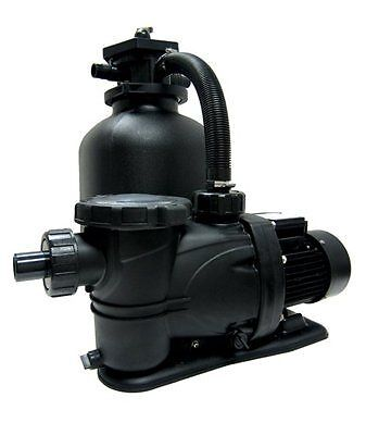 """Smart-Clear 19"""" Tank With 1.5 HP Above Ground Swimming Pool Sand Filter System"""
