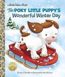 Poky-Little-Puppy-039-s-Wonderful-Winter-Day-by-Jean-Chandler-Sue-DiCicco