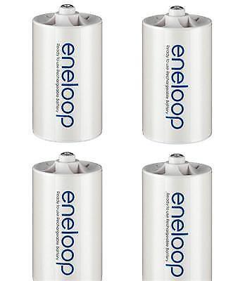 eneloop NCS-TG-D adapter AA (Mignon) auf Mono D / LR20 / D - 4er Pack