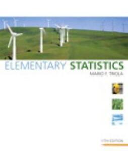 Statistics books ebay elementary statistics triola fandeluxe Image collections