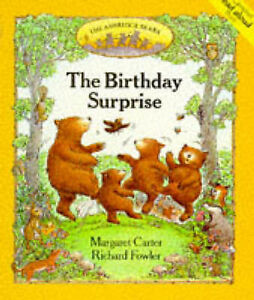 Very Good, The Birthday Surprise (Ashridge Bears), Fowler, Richard, Carter, Marg