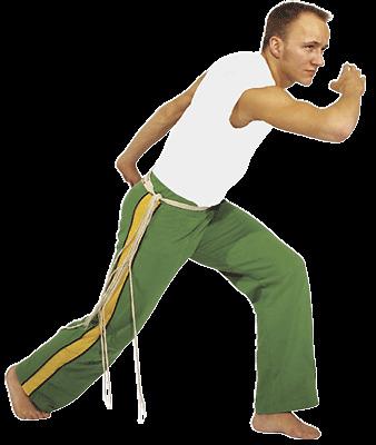 Capoeira-Hose v. Budoland. Grün/gelb oder weiß. Gr.S-XL