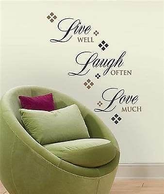 Living Room Wall Decals Ebay