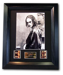 Brandon Lee Framed Film Cell, The Crow, Photo