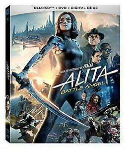 Alita: Battle Angel Blu-ray DVD, Christoph Waltz,