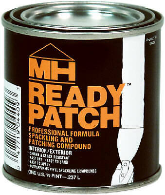 Zinsser 04428 MH Ready Patch Spackling & Patching Compound, 1/2 Qt