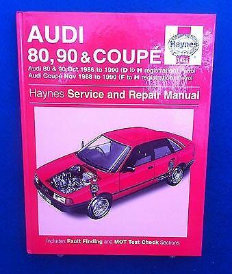 audi coupe gt 1986 service and repair manual