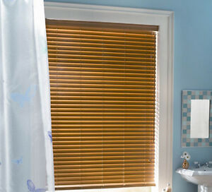 Shade-O-Matic Faux Wood Blinds Belleville Belleville Area image 2