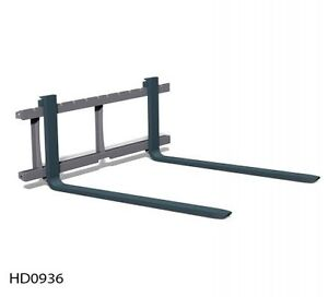 SKID STEER PALLET FORKS & QUICK ATTACHMENTS
